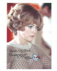 Georgina Moon  - Signed 10 x 8 Photograph. This is an original autograph and not a copy. 10214